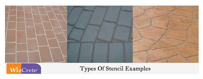 Concrete Stencil Examples