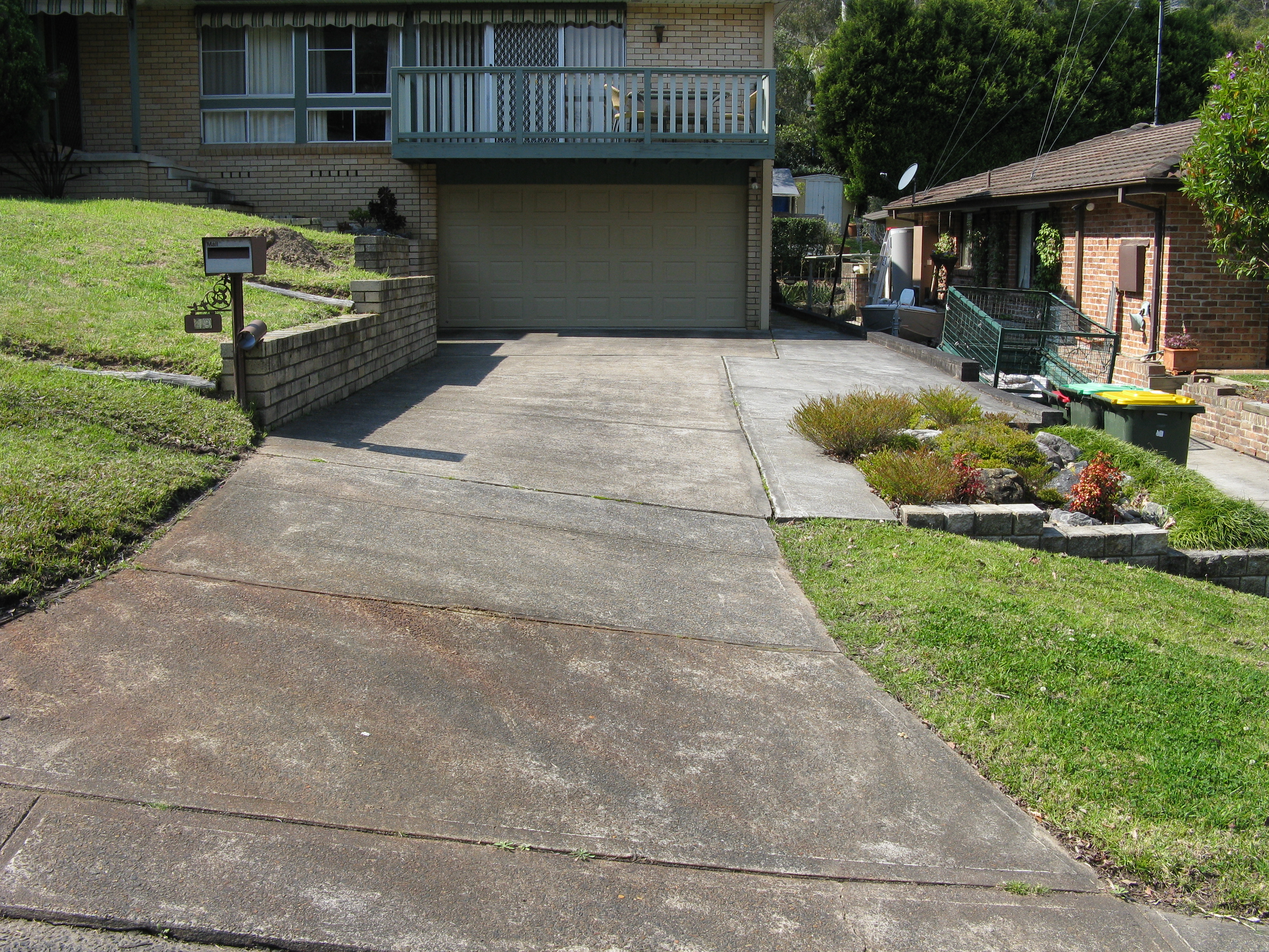 Concrete Resurfacing - Before & After Photos | Wizcrete