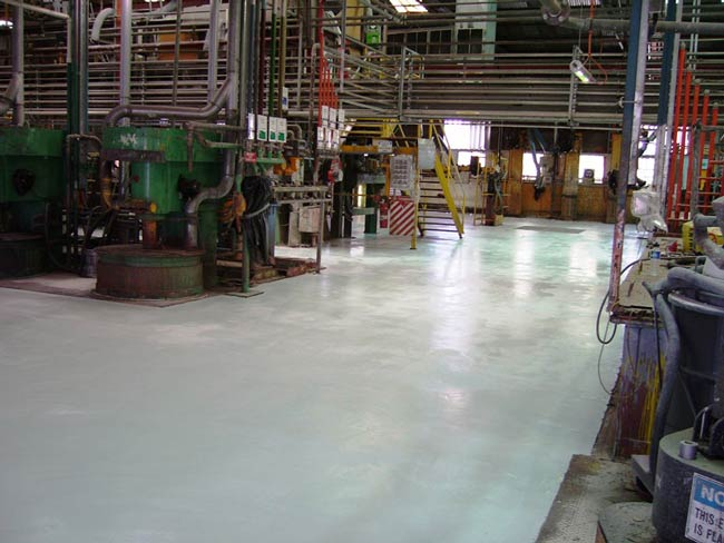 factory floor resurfacing