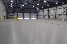 epoxy floor covering warehouse