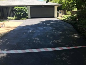 Wizcrete Concrete Resurfacing over old driveway