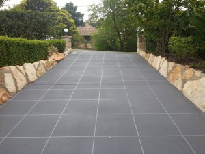 concrete resurfacing large tile square