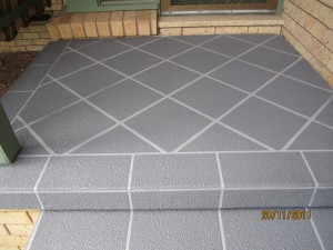 concrete resurfacing steps