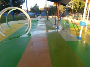 concrete resurfacing wet childrens play area